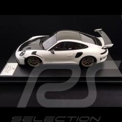 Porsche 911 GT3 RS type 991 Mk ll 2018 weiß / carbon 1/12 Spark WAP0231690K