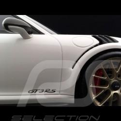 Porsche 911 GT3 RS type 991 Mk ll 2018 white / carbon 1/12 Spark WAP0231690K