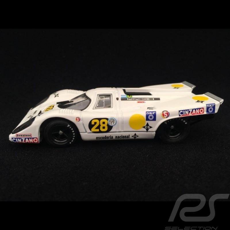 Porsche 917 K Buenos Aires 1971 n° 28 Escuderia nacional 1/43 Brumm R567