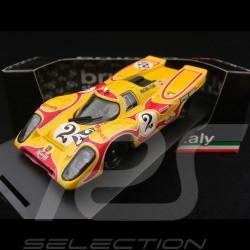 Porsche 917 K 9h Kyalami 1970 n° 2 Martini 1/43 Brumm R270