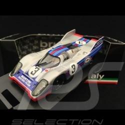 Porsche 917 K Monza 1971 n° 3 Martini 1/43 Brumm R252