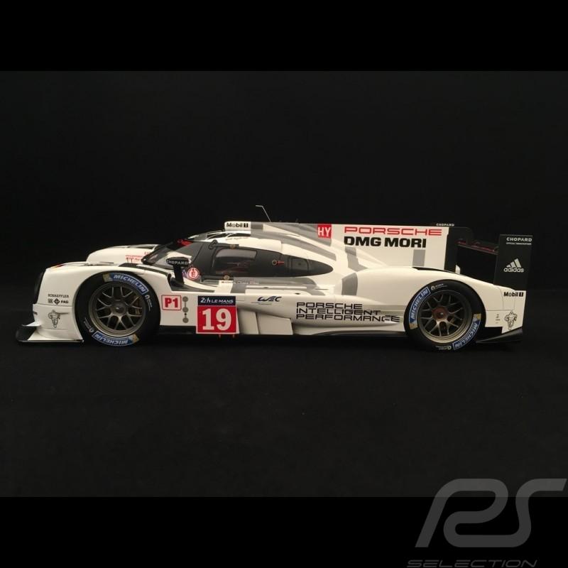 Porsche 919 Hybrid Vainqueur Le Mans 2015 n° 19 1/18 Spark WAP0218190G