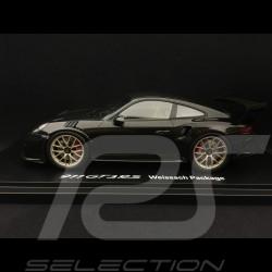 Porsche 911 GT3 RS type 991 phase II Pack Weissach 2018 noir / carbone 1/18 Spark WAP0211680K