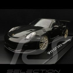 Porsche 911 GT3 RS type 991 Mark II Pack Weissach 2018 schwarz / carbon 1/18 Spark WAP0211680K
