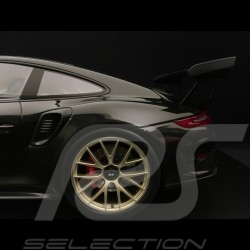 Porsche 911 GT3 RS type 991 Mark II Pack Weissach 2018 black / carbon 1/18 Spark WAP0211680K