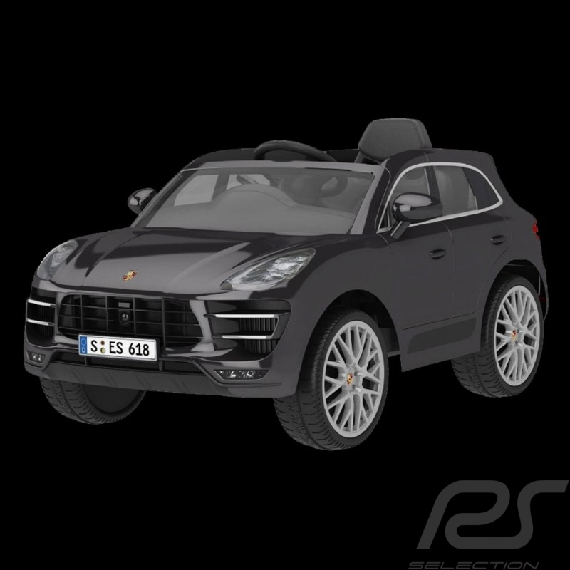 Porsche Macan Turbo Battery vehicle for children 12V Carbon grey