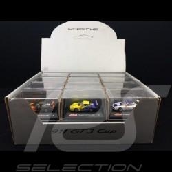 Set 24 Porsche 911 GT3 cup type 997 in display box 1/87 Schuco WAP022SET01