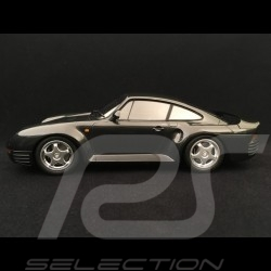 Porsche 959 1987 dark grey metallic 1/18 Minichamps 155066205