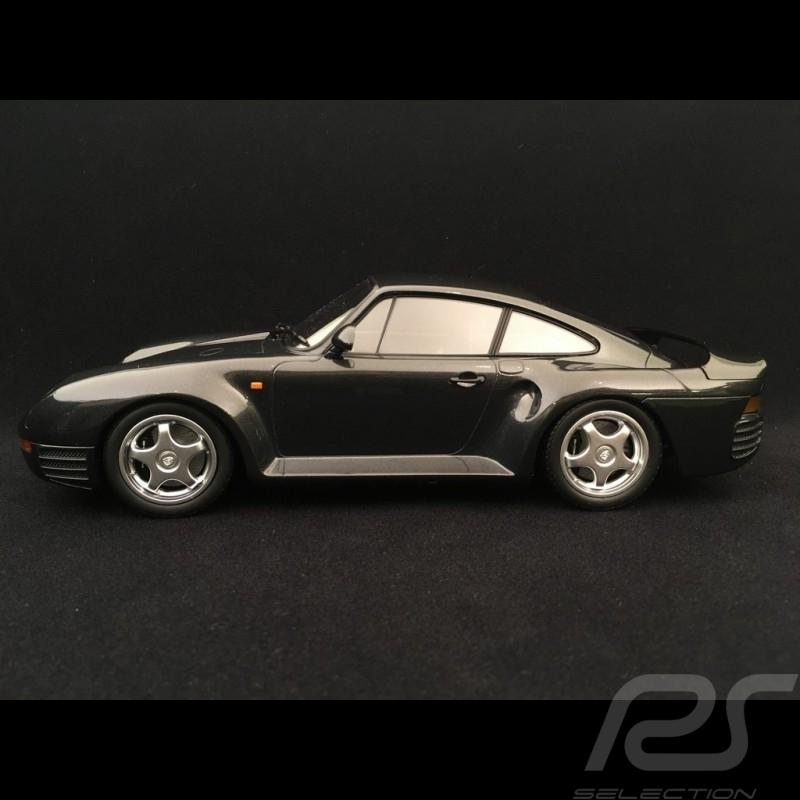 Porsche 959 1987 dunkelgrau metallic 1/18 Minichamps 155066205