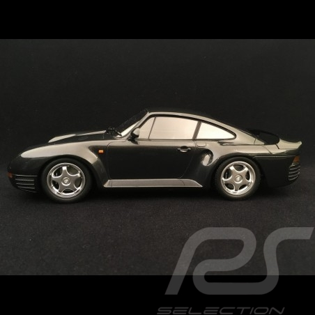 Porsche 959 1987 dark grey metallic 1/18 Minichamps 155066205