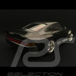 Porsche 959 1987 1/18 Minichamps 155066205 gris sombre métallisé dark grey metallic dunkelgrau metallic