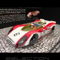Porsche 908 /02 Nürburgring 1969 n° 6 Salzburg Osterreich 1/43 Minichamps 437692006
