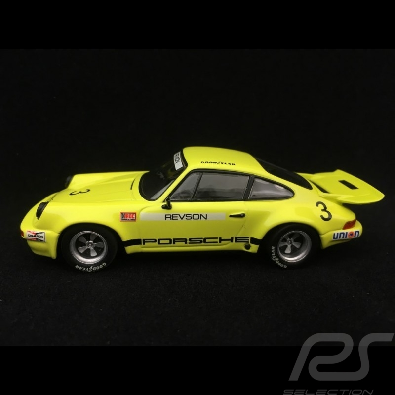 Porsche 911 Carrera 2.8 RSR 1973 Riverside IROC n°3 Revson 1/43 Minichamps 400736303