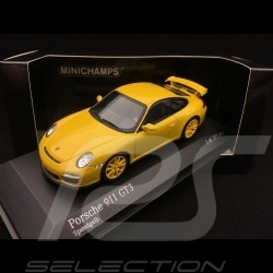 Porsche 911 type 997 GT3 3.8 phase II 2009 1/43 Minichamps 400068022 jaune vitesse speed yellow speedgelb