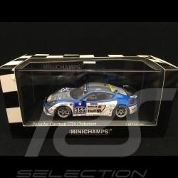 Porsche Cayman GT4 Clubsport Nürburgring 2016 n° 355 Mühlner 1/43 Minichamps 437166155