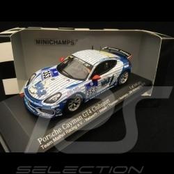 Porsche Cayman GT4 Clubsport Nürburgring 2016 n° 353 Team Mathol Racing e.V. 1/43 Minichamps 437166153