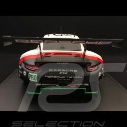 Porsche 911 RSR type 991 24h du Mans 2018 n° 93 Porsche Team 1/18 Spark 18S403