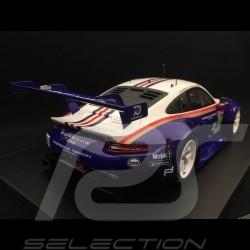 Porsche 911 RSR type 991 24h du Mans 2018 n° 91 Style Rothmans 70 ans Porsche 1/18 Spark 18S392