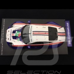 Porsche 911 RSR type 991 24h Le Mans 2018 n° 91 Rothmans colors Porsche 70 years 1/18 Spark 18S392