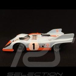 Porsche 917 K Monza 1971 n° 1 Gulf 1/43 Brumm R221B
