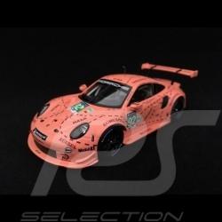 Porsche 911 RSR type 991 24h du Mans 2018 n° 92 Cochon rose Exemplaire N° 4/2018 1/43 Spark WAP0209250K vainqueur winner sieger