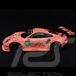 Porsche 911 RSR type 991 winner 24h du Mans 2018 n° 92 Pink Pig Copy N° 4/2018 1/43 Spark WAP0209250K