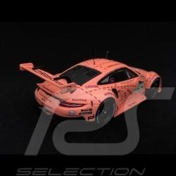 Porsche 911 RSR type 991 winner 24h du Mans 2018 n° 92 Pink Pig 1/43 Spark WAP0209250K