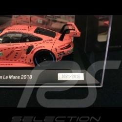 Porsche 911 RSR typ 991 Sieger 24h du Mans 2018 n° 92 Sau 1/43 Spark WAP0209250K