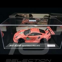 Porsche 911 RSR type 991 24h du Mans 2018 n° 92 Cochon rose Exemplaire N° 1/2018 1/43 Spark WAP0209250K vainqueur winner sieger