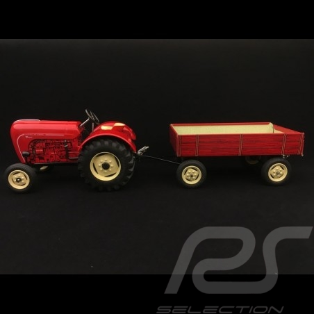 Porsche Diesel Tracteur tractor schlepper Master 419 avec remorque trailer anhanger 1/25 Kovap 0321 0430