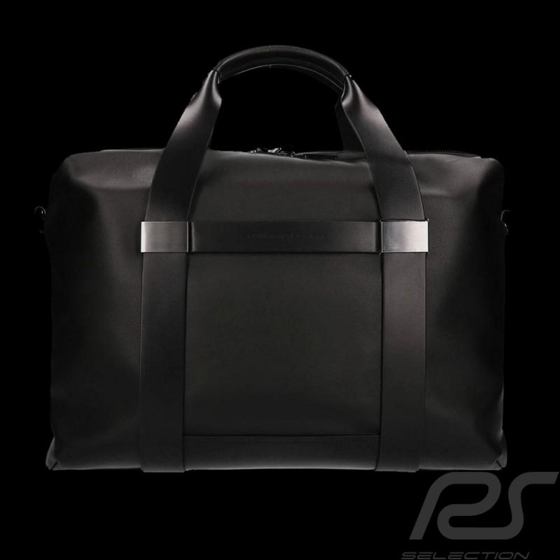 Sac Porsche Porte-documents / Ordinateur cuir noir Shyrt 2.0 SHZ Porsche Design 4090002638 Briefbag / Laptop bag