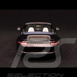 Porsche 911 type 991 Carrera GTS cabriolet 2017 1/43 Spark S7622 noir métallisé black schwarz metallic