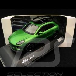 Porsche Macan S 2018 Tequipment vert Mamba 1/43 Spark WAX02020096