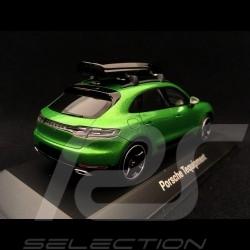 Porsche Macan S 2018 Tequipment Mamba green 1/43 Spark WAX02020096