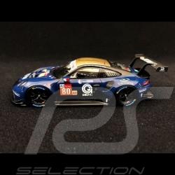 Preorder Porsche 911 RSR type 991 24h du Mans 2018 n° 80 Ebimotors 1/43 Spark S7040