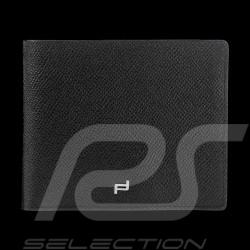 Porsche Geldbörse Kreditkartenhalter H5 French Classic 3.0 schwarze Leder Porsche Design 4090001535