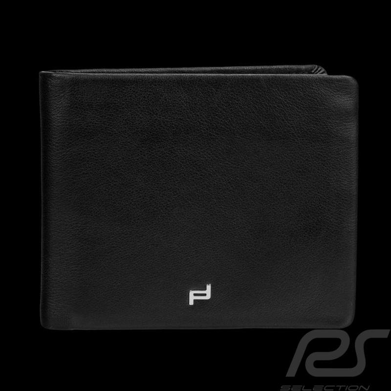 Porsche Geldbörse Kreditkartenhalter H10 Touch 3 Klappen schwarze Leder Porsche Design 4090001718