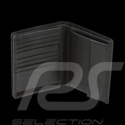 Porsche Geldbörse Kreditkartenhalter V16 Touch 3 Klappen schwarze Leder Porsche Design 4090001719