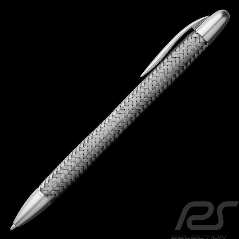 Stylo à bille Porsche Design Tec Flex Acier ballpoint pen Kugelschreiber Steel edelstahl