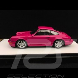 Porsche 911 type 964 Carrera RS 1992 rouge rubis 1/43 Make Up Vision VM122B rubystone red rot