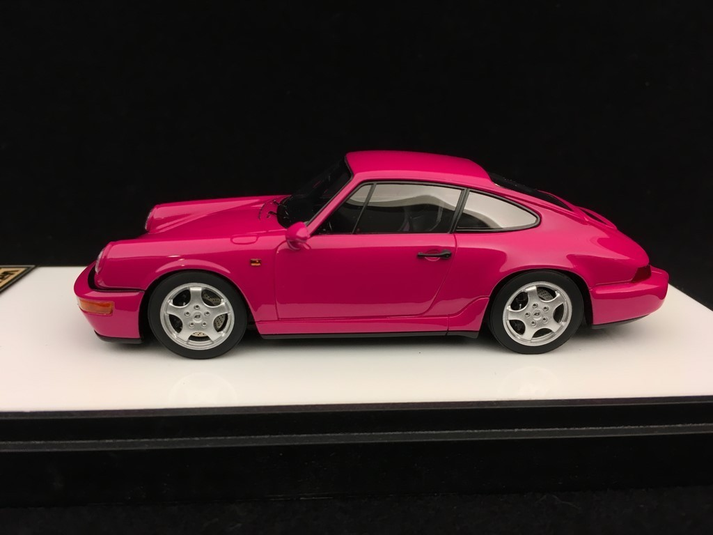 Porsche 911 Type 964 Carrera Rs 1992 Rubystone Red 1 43 Make Up Vision Vm122b Selection Rs