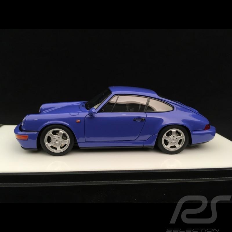 Porsche 911 type 964 Carrera RS 1992 bleu maritime 1/43 Make Up Vision VM122A maritime blue maritim blau