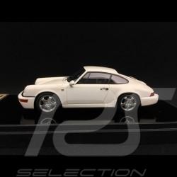 Porsche 911 type 964 Carrera RS 1992 white 1/43 Make Up Vision VM122D