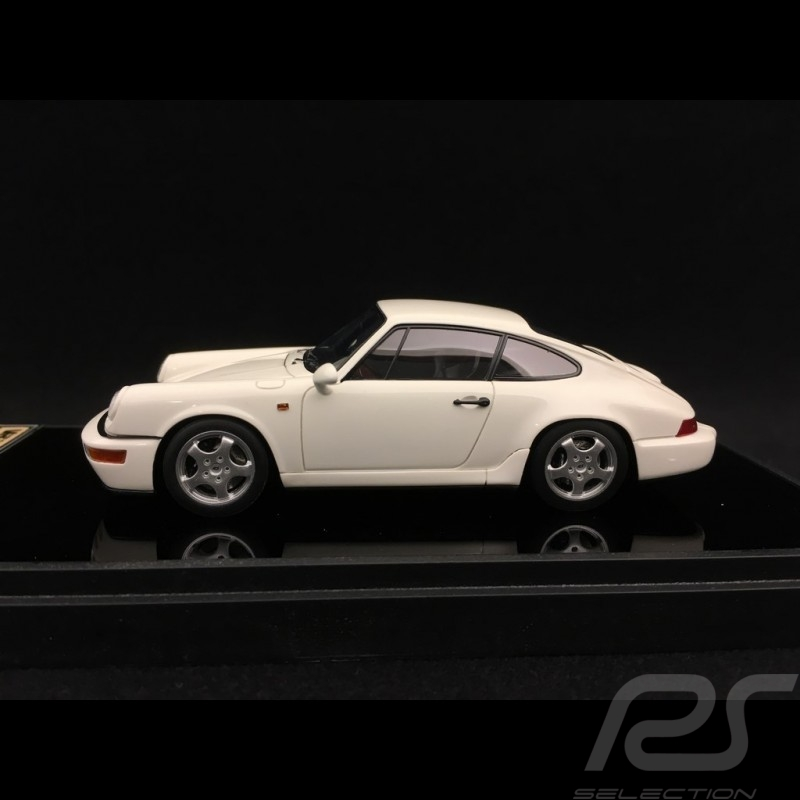 Porsche 911 type 964 Carrera RS 1992 white 1/43 Make Up Vision VM122D