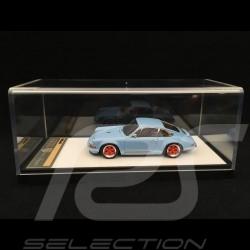 Singer Porsche 911 typ 964 Gulfblau 1/43 Make Up Vision VM111A