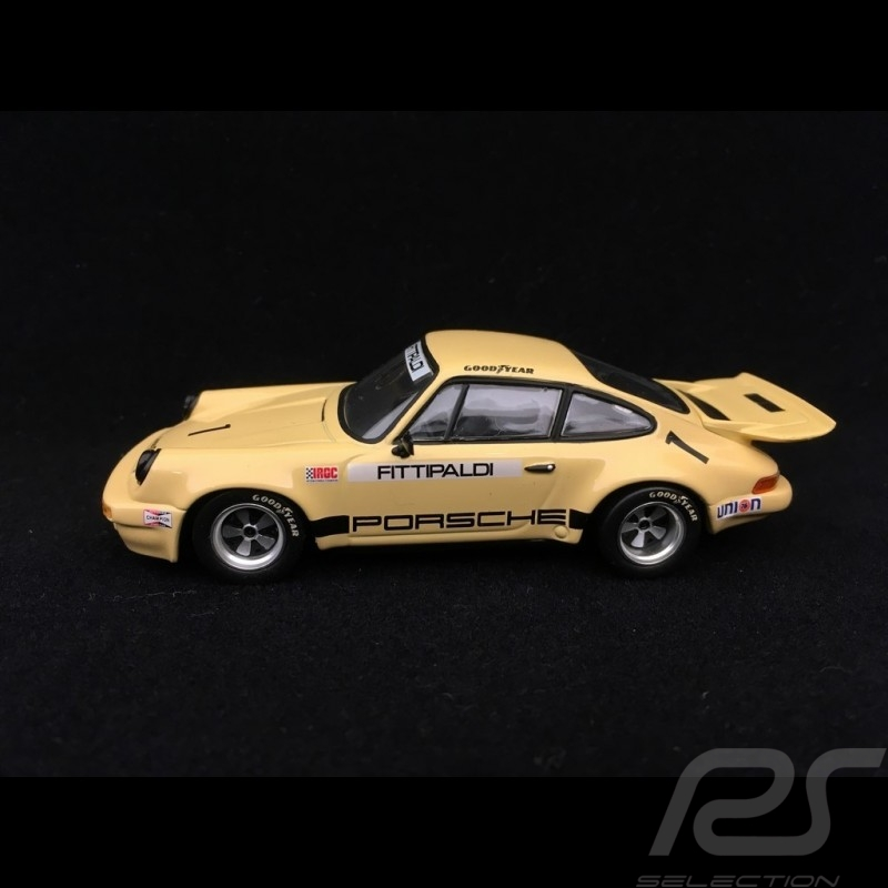 Porsche 911 Carrera RSR 2.8 Riverside IROC 1973 n° 1 1/43 Minichamps 400736301