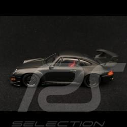 Porsche 911 type 993 GT2 Evo 1995 matte black 1/43 Minichamps 433986793