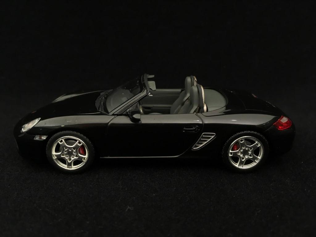 Porsche Boxster S 987 2005 Black 1 43 Minichamps 400065630 Selection Rs