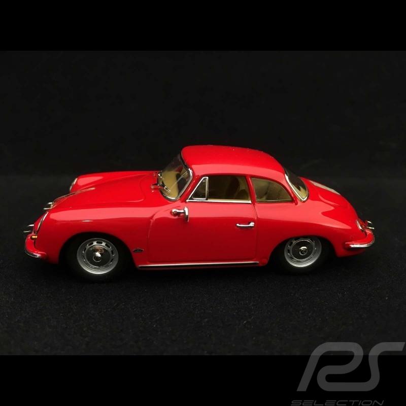 Porsche 356 B Hardtop-Coupé 1961 rot 1/43 Minichamps 400064320