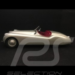 Jaguar XK 120 Cabriolet 1953 silver grey 1/12 12ART-MATRIX 1001011